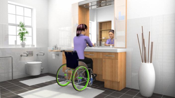 Kvinner i rullestoler
