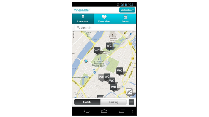 WheelMate for Android telefoner