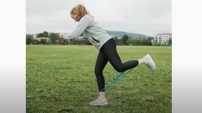 Kickback med strikk